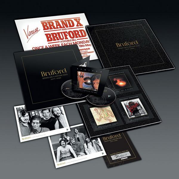 Bruford: 2017 Seems Like A Lifetime Ago 1977-1980 - 8-Disc Box Set Winterfold Records