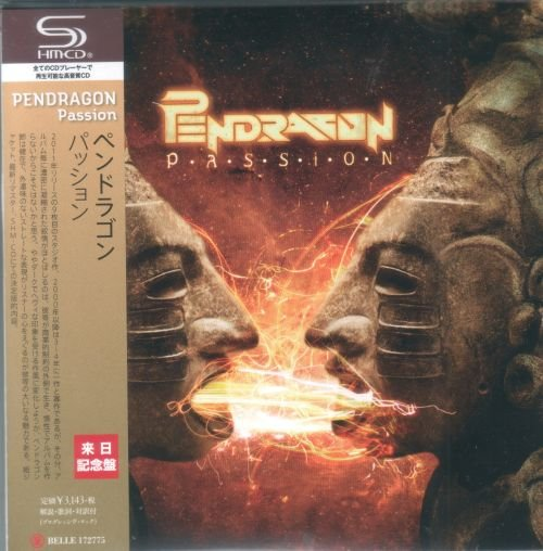 Pendragon - Passion [Japanese Edition, 1st Press] (2017)