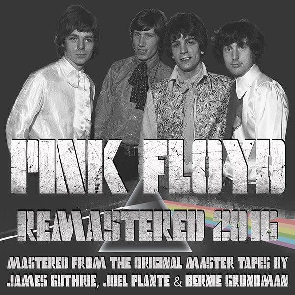 PINK FLOYD «Discography on vinyl» (10 x LP • Pink Floyd Music Limited • Remastered 2016)