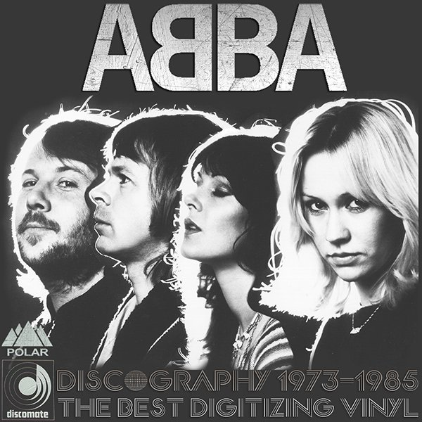 ABBA «Discography on vinyl» (20 x LP • Polar Music International AB • 1973-1985)