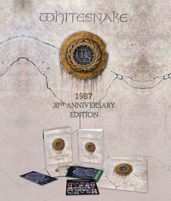 Whitesnake: 1987 - 4CD + DVD Box Set Parlophone Records 2017
