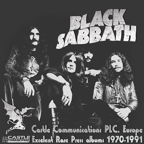 BLACK SABBATH «Castle Press Collection» + bonus (12 x CD • Castle Communications PLC • 1970-1991)