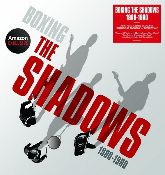 The Shadows: Boxing The Shadows 1980-1990 / 11CD Box Set Edsel Records
