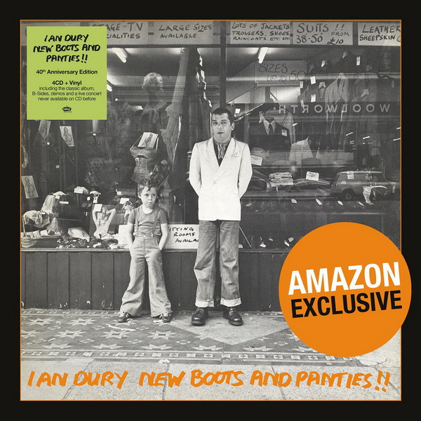 Ian Dury: 1977 New Boots And Panties!! / 4CD + LP Box Set Edsel Records 2017