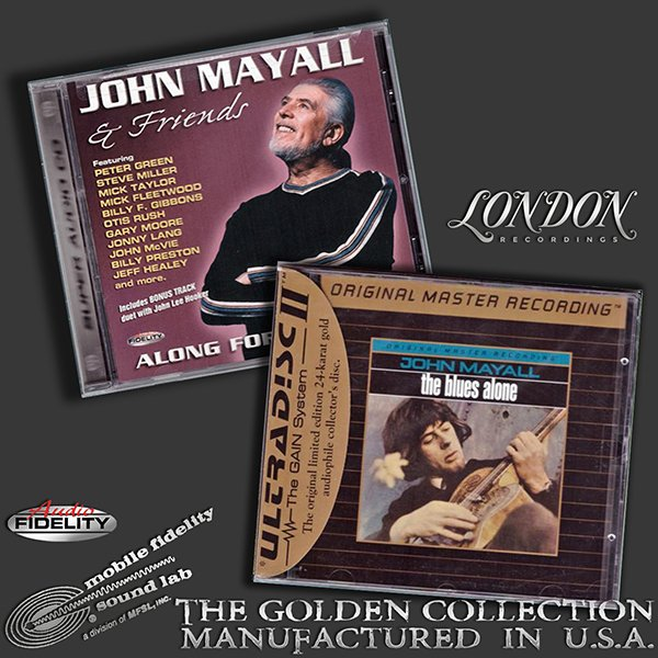 JOHN MAYALL «Golden Collection 1967-2003» (2 x CD • MFSL/AF • Issue 1996-2003)