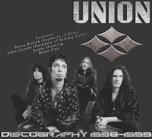 UNION «Discography» (3 x CD • albums • Issue 1998-2005)