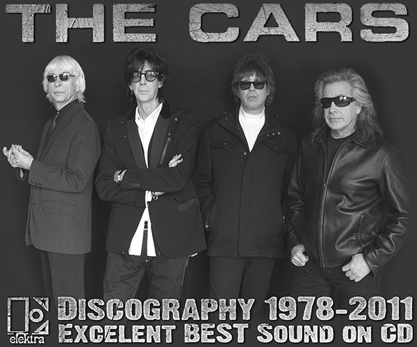 THE CARS «Golden Collection» (9 x CD • Best Sound Issue 1984-2011)