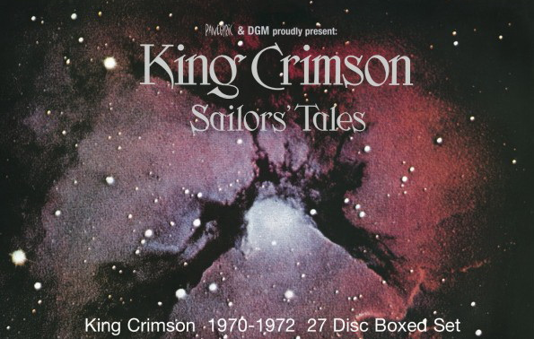 King Crimson: 2017 Sailors' Tales 27-Disc Box Set