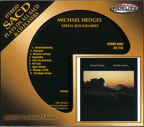 MICHAEL HEDGES «Aerial Boundaries» (1984) (US 2015 Audio Fidelity • AFZ 218)