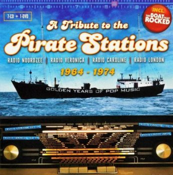 VA - A Tribute To The Pirate Stations 1964-1974 [7CD Box Set] (2010)