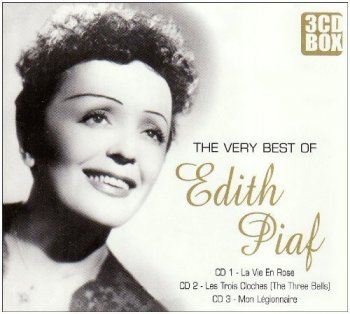 Edith Piaf - The Very Best Of [3CD Remastered Box Set] (2007)