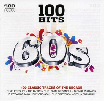 VA - 100 Hits: 60s [5CD Box Set] (2007)