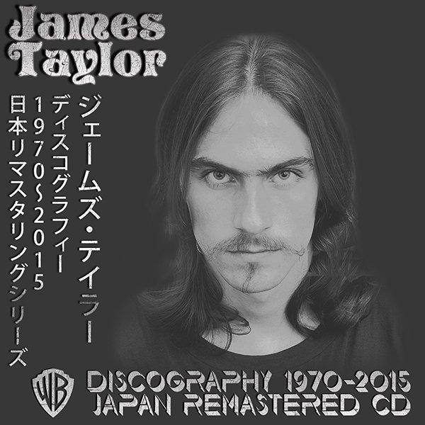 JAMES TAYLOR «Discography 1970-2015» (13 x CD • Japan Remastered + bonus • Issue 2002-2015)