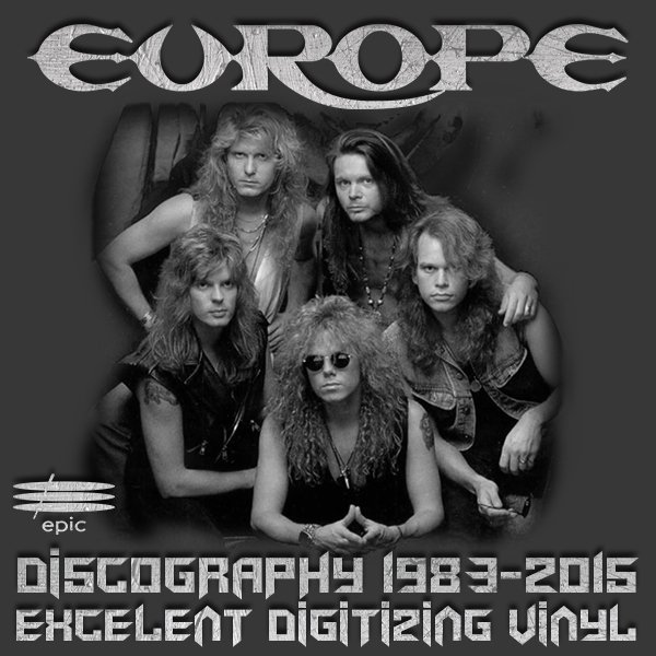 EUROPE + JOHN NORUM «Discography on vinyl» (11 x LP • 1st press • 1983-2015)