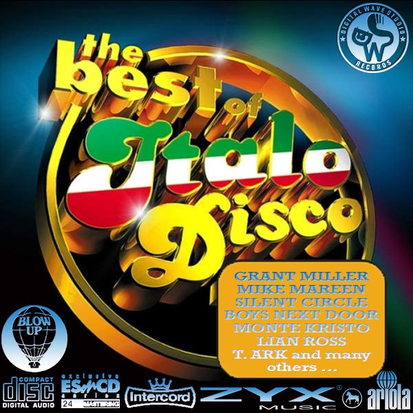 ITALO-DISCO «MEGA Collection 'Golden Disco Series'» (70 x CD • ESonCD/DWS/ZYX • Issue 2003-2017)