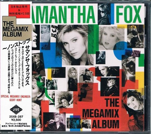 SAMANTHA FOX «Collection» (4 x CD • Alfa Records Inc. • Issue 1986-1992)