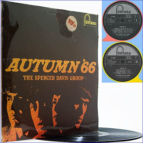 Spencer Davis Group - Autumn 66 (1966) (Vinyl)