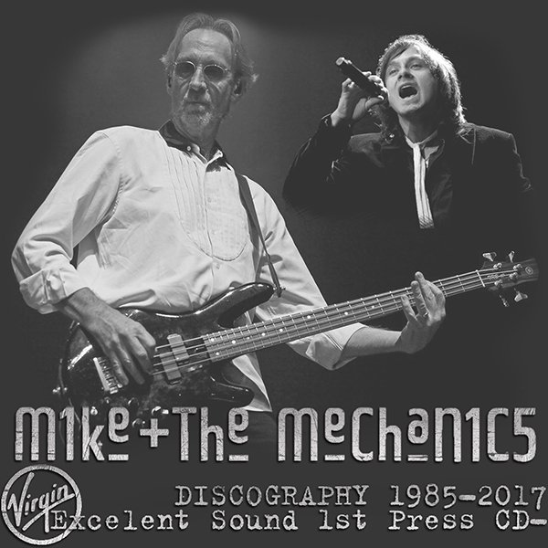 M1KE + THE MECHAN1C5 «Discography» (11 x CD • Virgin Records Ltd. • 1985-2017)