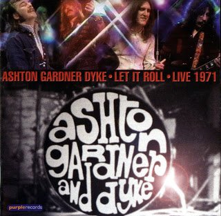 Ashton, Gardner And Dyke - Let It Roll / Live (1971)