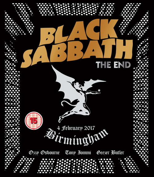 Black Sabbath: 2017 The End - 3CD + DVD + Blu-ray Box Set Eagle Records