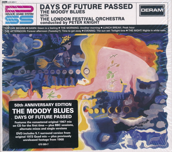 Moody Blues: 1967 Days Of Future Passed - 3-Disc Box Set Universal Music 2017