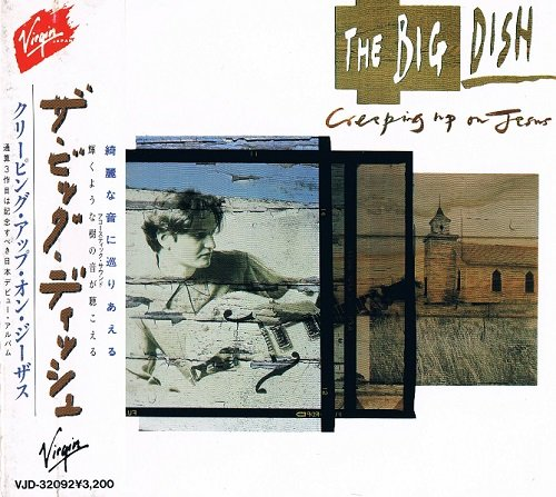 The Big Dish - Creeping Up On Jesus [Japanese Edition, 1st press] (1988)
