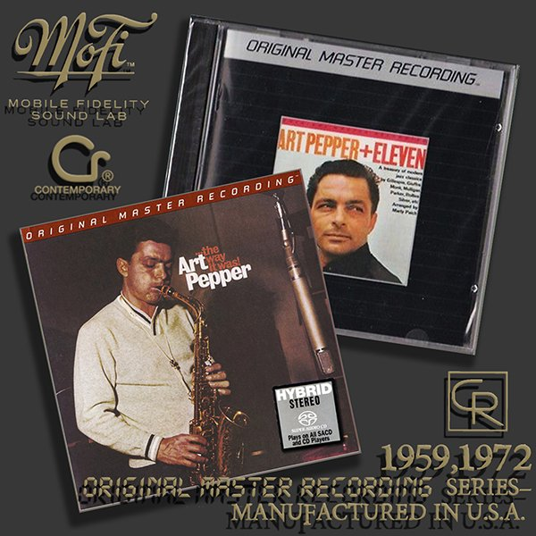 ART PEPPER «Original Master Recording» Series– (2 x CD • MFSL • 1959-1972)