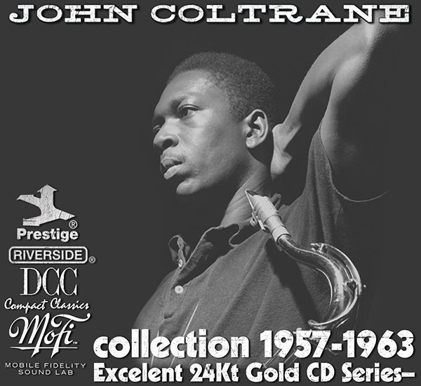 JOHN COLTRANE «Golden Collection» (8 x 24Kt Gold CD • MFSL/DCC • 1957-1963)
