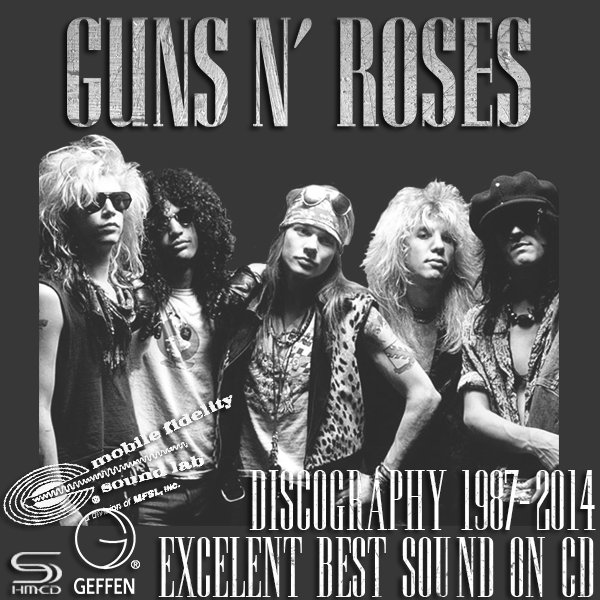 GUNS N' ROSES ?Discography 1987-2014? (15 x CD ? BEST Sound ? Issue 1997-2014)