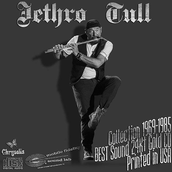 JETHRO TULL «Gold Collection 1969-1985» (9 x 24Kt Gold CD + bonus • Issue 1988-2014)