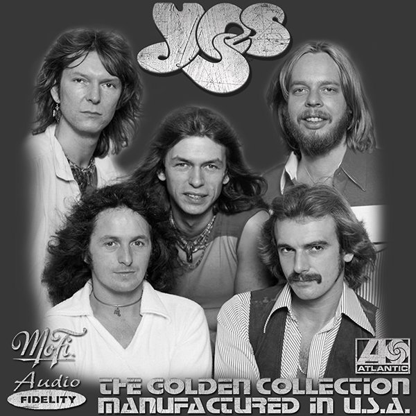 YES & JON ANDERSON «Golden Collection» (6 x CD • AF/MFSL • 1971-1983)