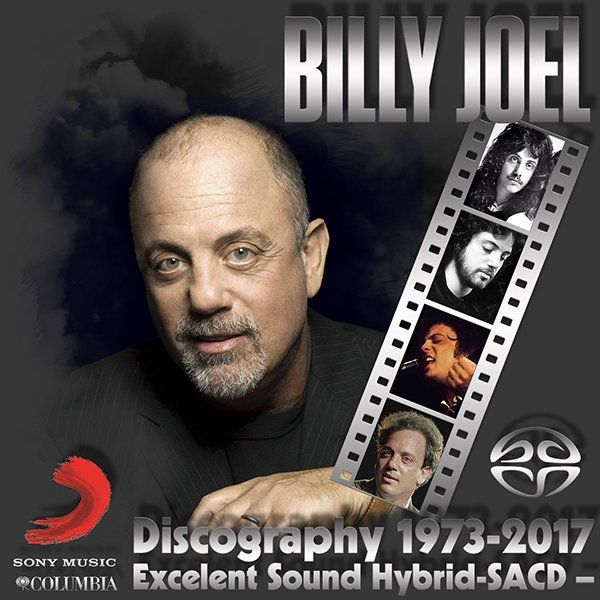 BILLY JOEL «SACD Collection» (12 x SACD • Columbia • Issue 1998-2017)