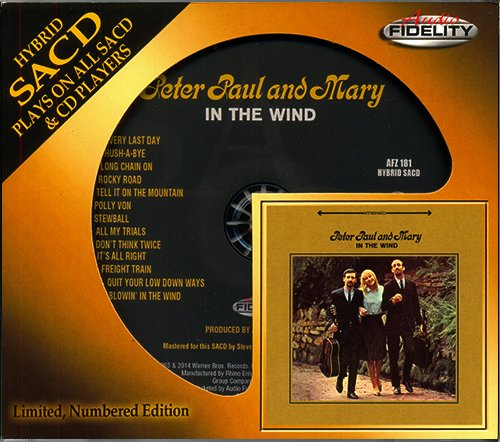 PETER, PAUL & MARY «Collection 1962-1963» (2 x CD • Audio Fidelity SACD • Issue 2013-14)