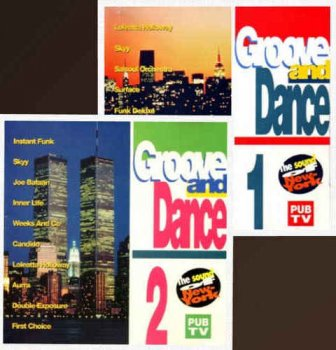 VA - Groove And Dance Volume 1 & 2 - The Sound Of New York (1993)