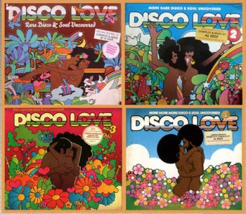 VA - Disco Love Vol. 1-4: Rare Disco & Soul Uncovered (2010-2016)