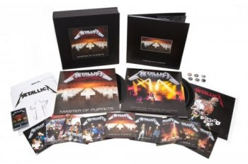 Metallica - Master Of Puppets 1986 [Super Deluxe Box Set] (2017)