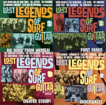 VA - Lost Legends Of Surf Guitar Vol. I-IV (2003-2005)