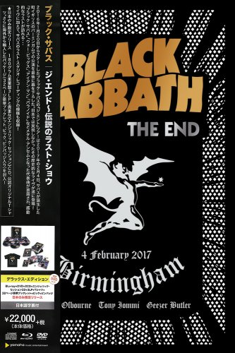 Black Sabbath - The End (live) [3CD] [Japanese Edition] (2017)