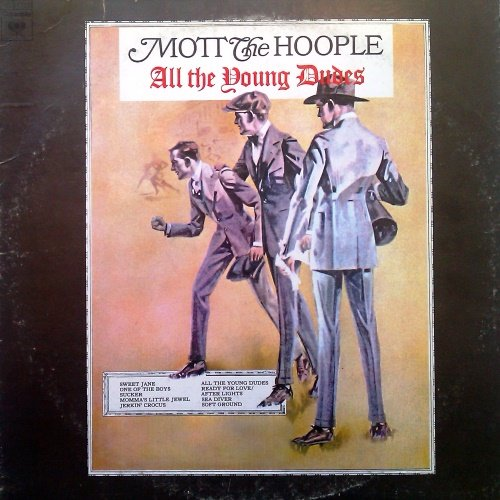 Mott The Hoople - All The Young Dudes (1972) [Vinyl Rip 24/192]