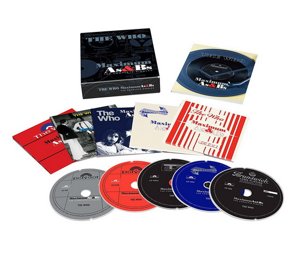 The Who: CDs Single Collection - 2004/2017 Box Sets