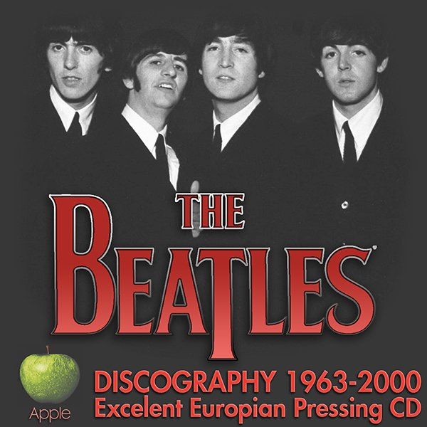 THE BEATLES «Discography» (28 x CD • EMI Records Ltd. • 1963-2000)