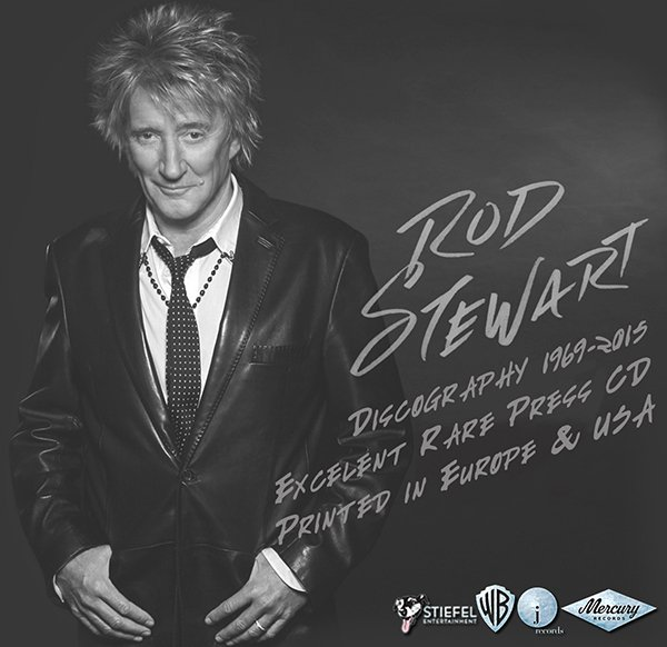 ROD STEWART «Discography 1969-2015» (35 x CD • 31 albums • Issue 1983-2015)