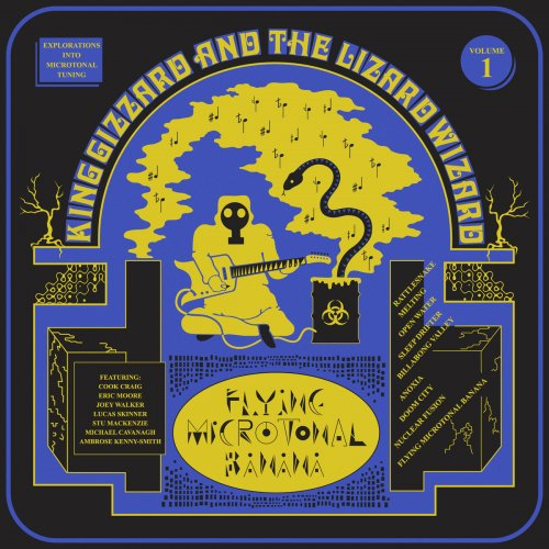 King Gizzard and The Lizard Wizard - Flying Microtonal Banana (2017)