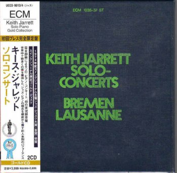 Keith Jarrett - Solo-Concerts: Bremen & Lausanne [2CD] (1973) [Japanese Remastered 2001]