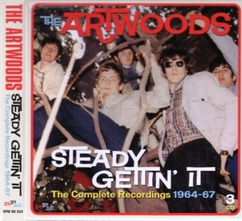 The Artwoods - Steady Gettin' It: The Complete Recordings 1964-67 [3CD] (2014)