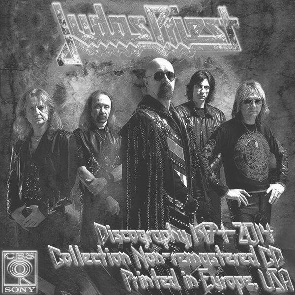 JUDAS PRIEST ?Discography 1974-2014? (25 x CD ? CBS Records, Inc. ? Issue 1982-2014)