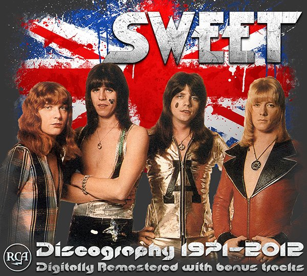 SWEET «Discography 1971-2012» (12 x CD • Remastered • Issue 2002-2012)
