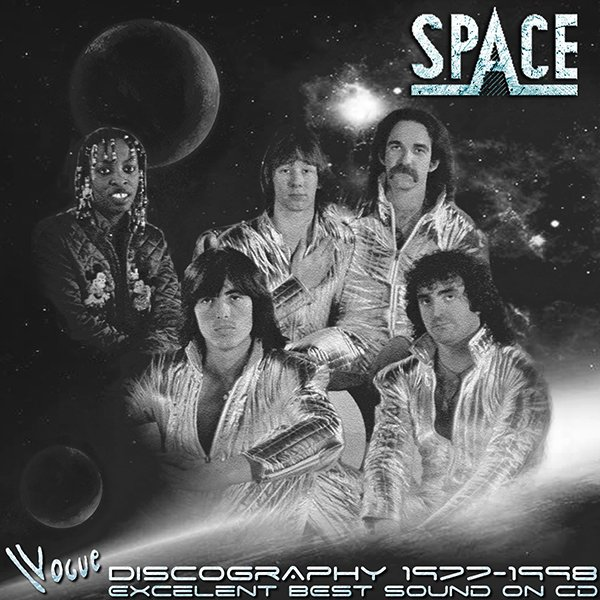 SPACE «Discography 1977-1998» + bonus (6 x CD • Vogue Limited • Issue 1996-2003)