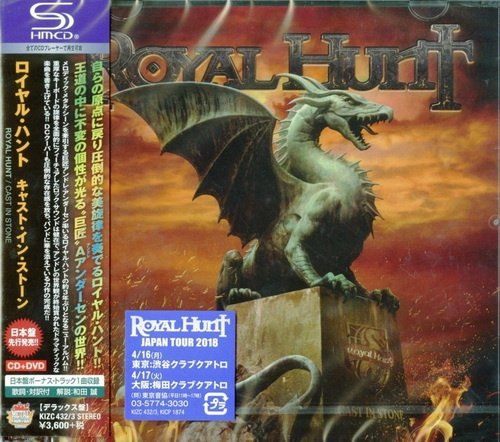 Royal Hunt - Cast In Stone [Japanese Edition] (2018)