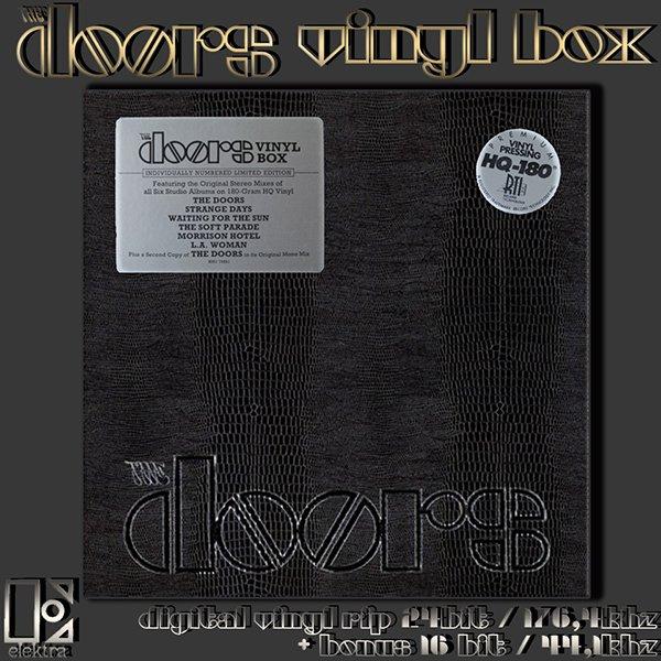 THE DOORS ?Vinyl Box? (US 6 x LP 2008 Rhino Entertainment Company ? RHI1 74881)